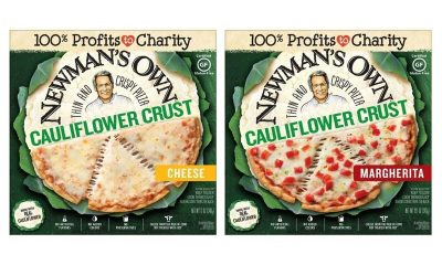 Crispy Mainstream Cauliflower Pizzas