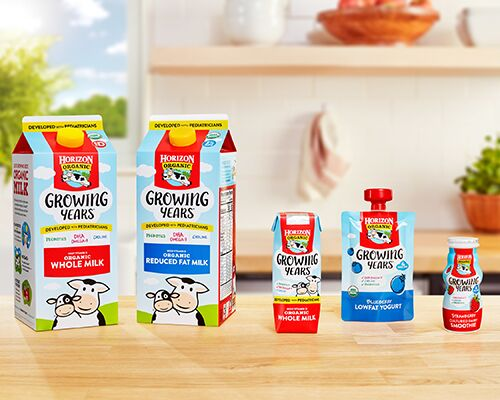 Nutritious Child-Focused Dairy Products