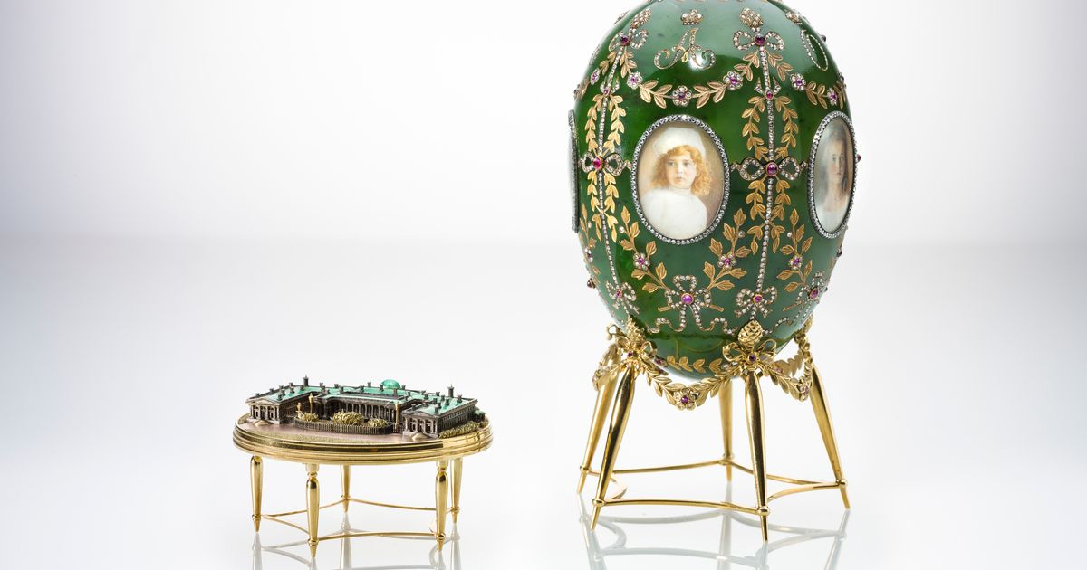 Egg hunt at the V&A: rare Fabergé treasures from the Queen and Moscow Kremlin Museums included in new show