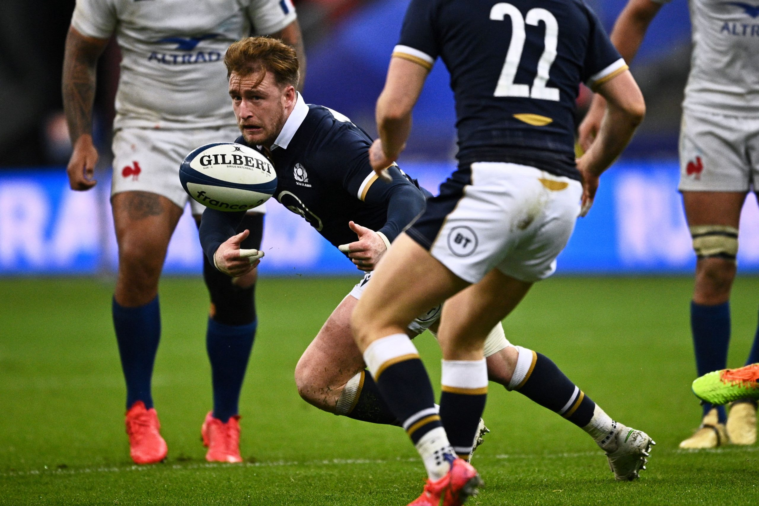 France 23-27 Scotland: Wales crowned Six Nations champions as visitors win in Paris despite Finn Russell red card