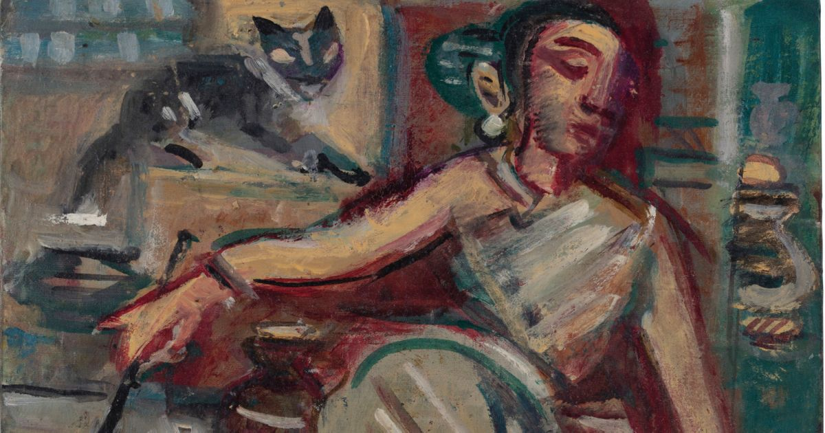Gaitonde breaks Indian art auction record—again—but Amrita Sher-Gil painting falls flat in uneven South Asian sales