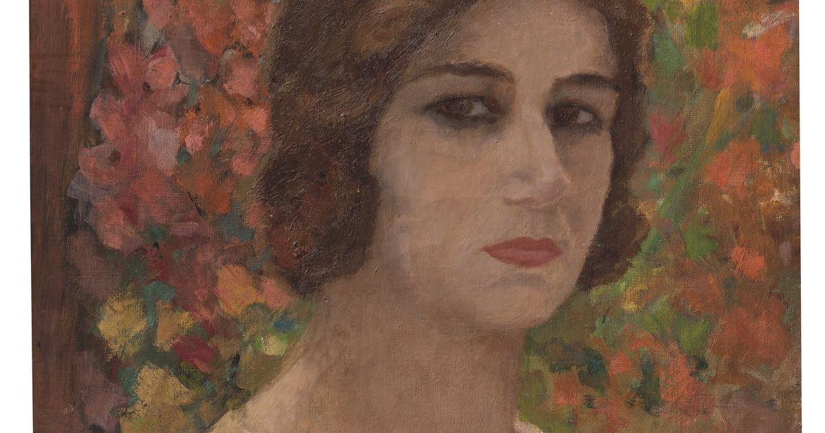 Rediscovered portrait by India's most famous female painter Amrita Sher-Gil expected to sell for $2.8m