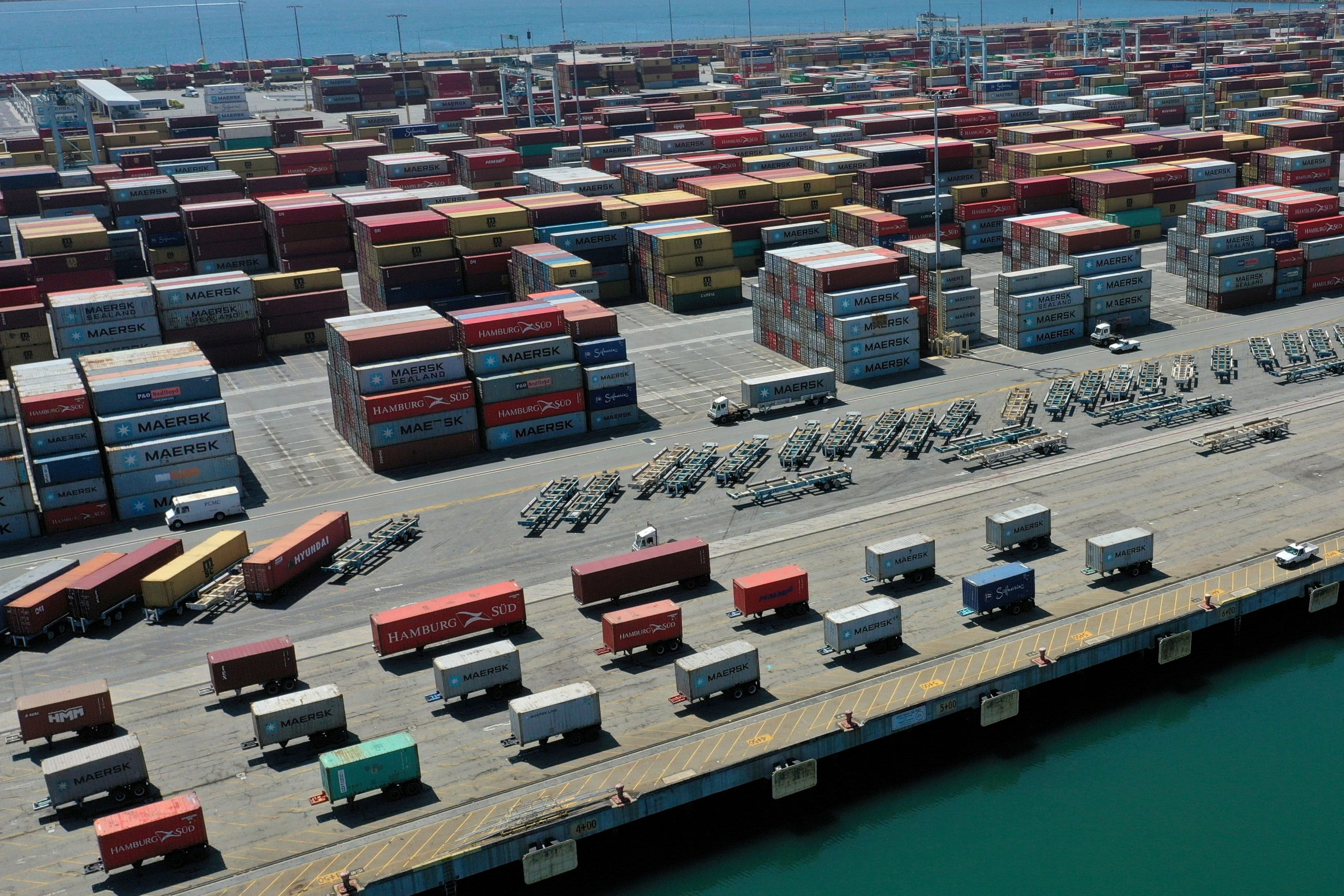 Retailers pay more to fly everything from bikes to hot tubs from China as U.S. port backup delays deliveries