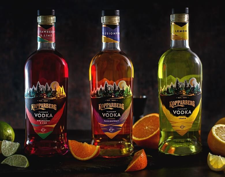 Flavorfully Fruity Spirit Ranges
