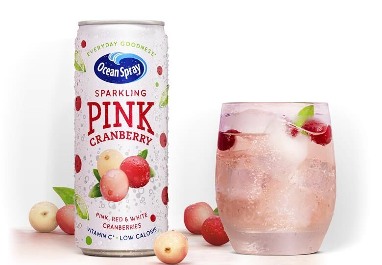 Beneficial Sparkling Cranberry Drinks