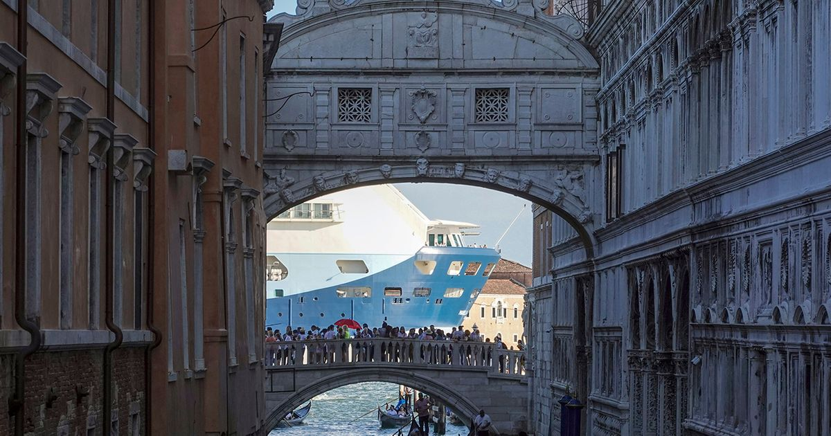 After long complaints about pollution and blocked views, Italy bans cruise ships in Venice's historic centre