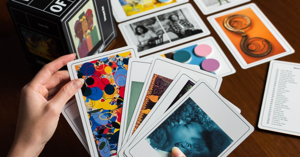 Agnes Gund's celebrated collection inspires arty new card game
