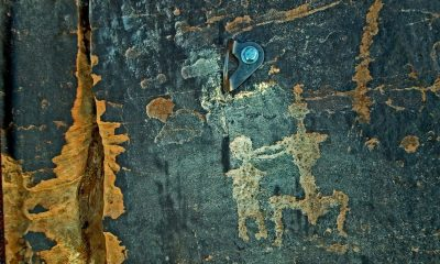 Ancient petroglyphs damaged by climber in Utah