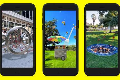 Augmented Reality Monuments