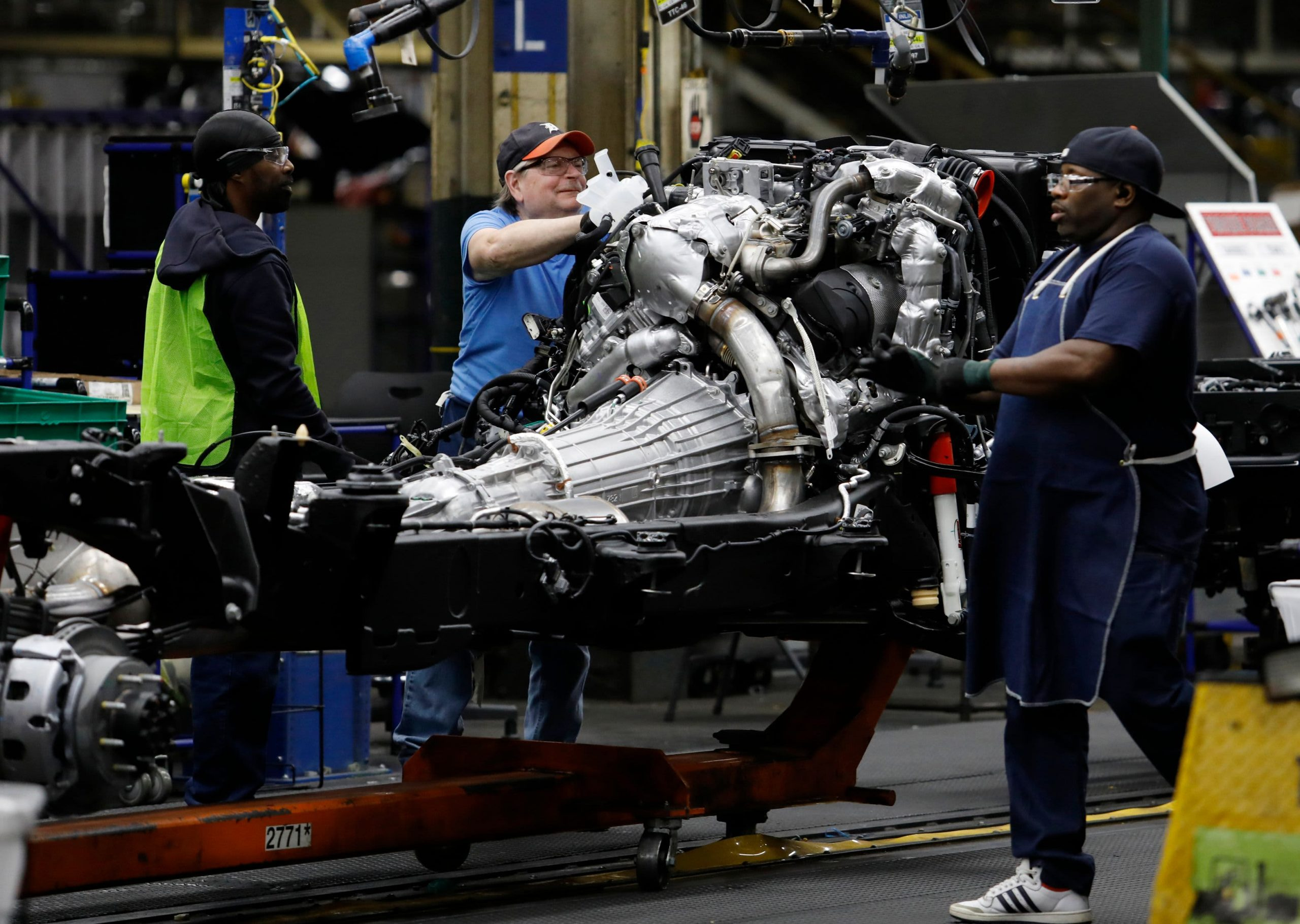 GM cutting overtime shifts at two U.S. truck plants due to chip shortage