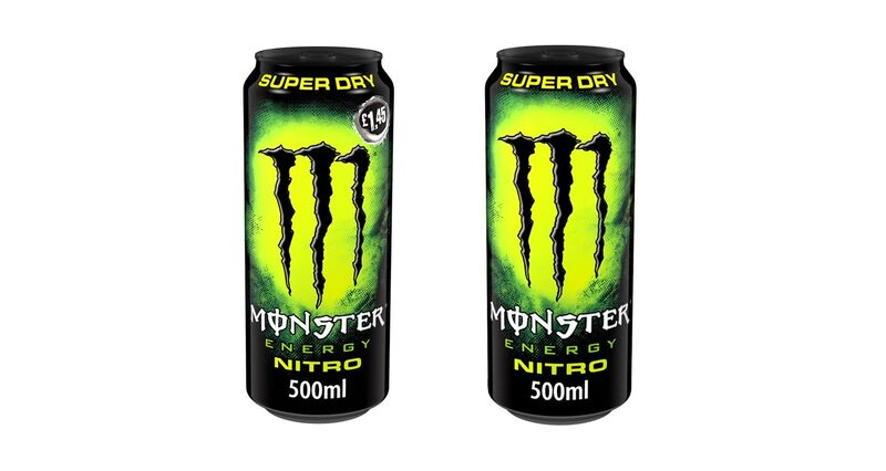 Gas-Infused Energy Drinks