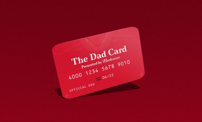 Pre-Paid Father's Day Credit Cards