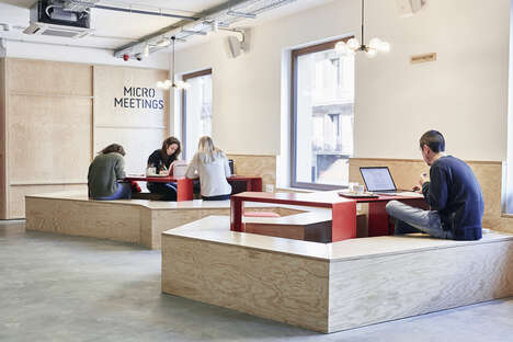 Community-Focused Bank Cafes