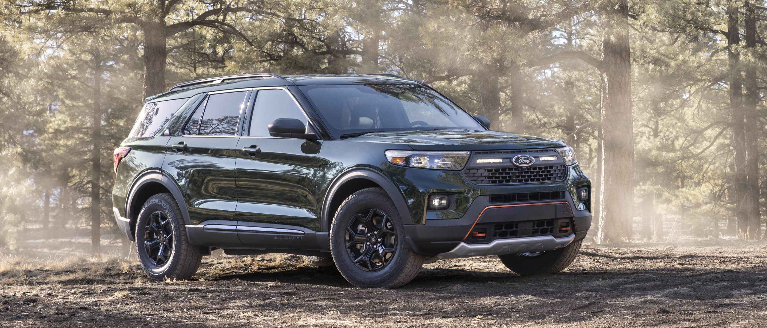 Ford launching new off-road Timberline models starting with Explorer SUV