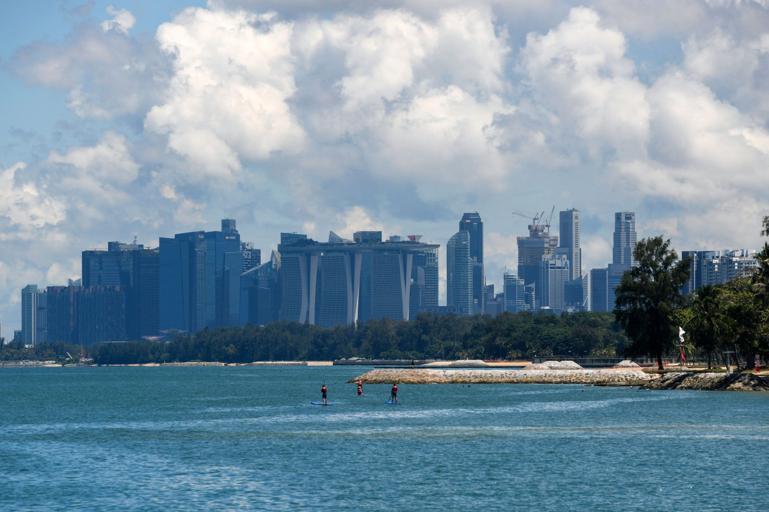 Singapore faces 'twin challenges' from climate change, says minister