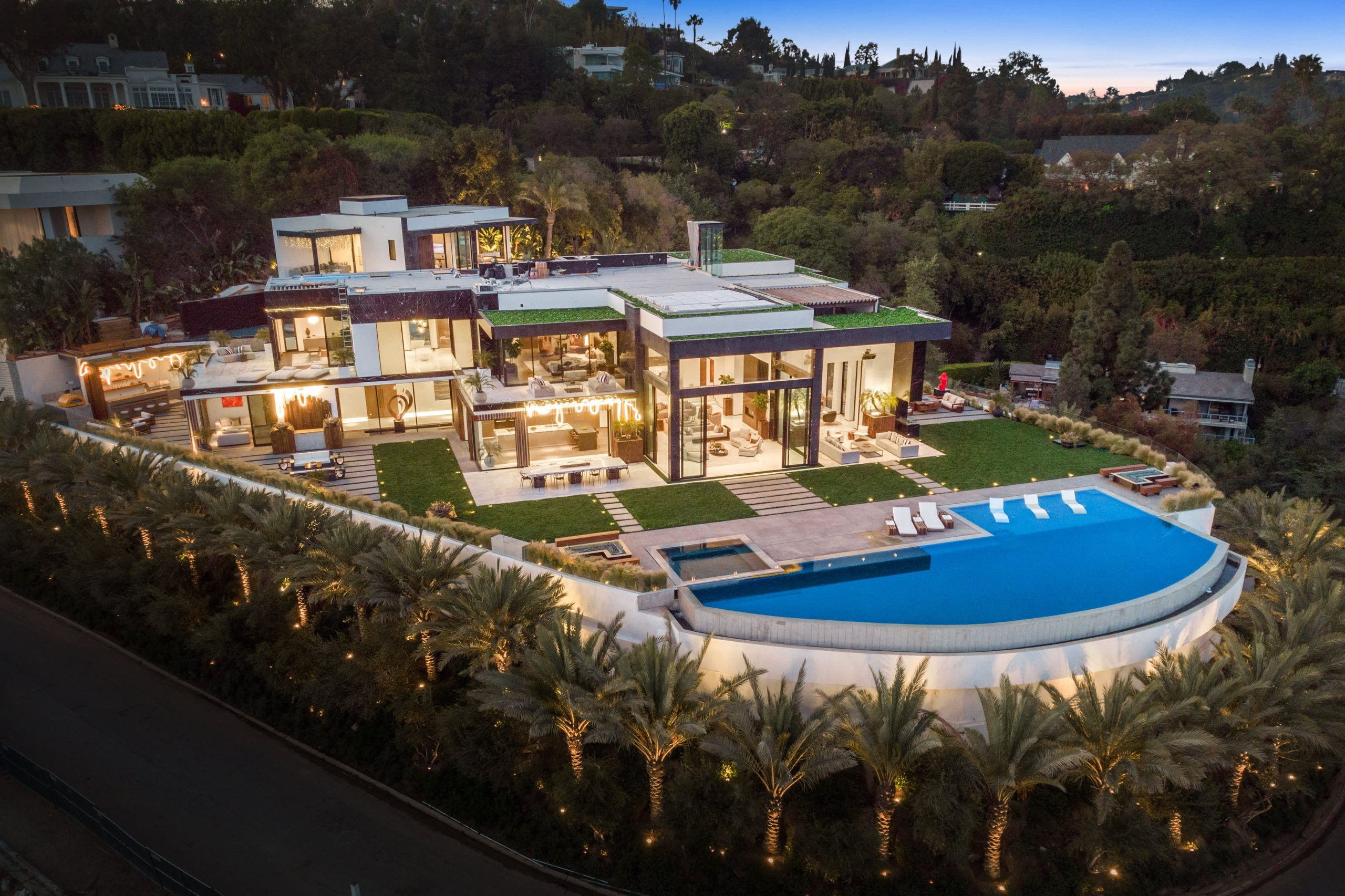 After a dramatic seven-year renovation, an $87 million mansion hits the market in Bel-Air