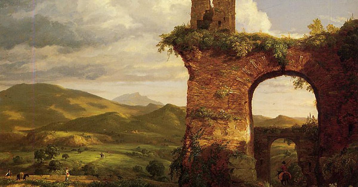 After disputed sale at Sotheby's, Thomas Cole's The Arch of Nero will go on view at Philadelphia Museum of Art