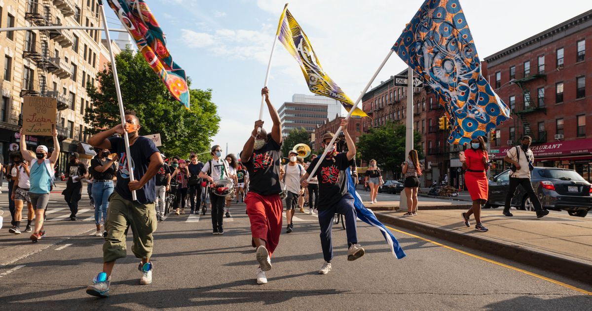 Black artists and performers take over Fort Greene Park for Juneteenth Jubilee