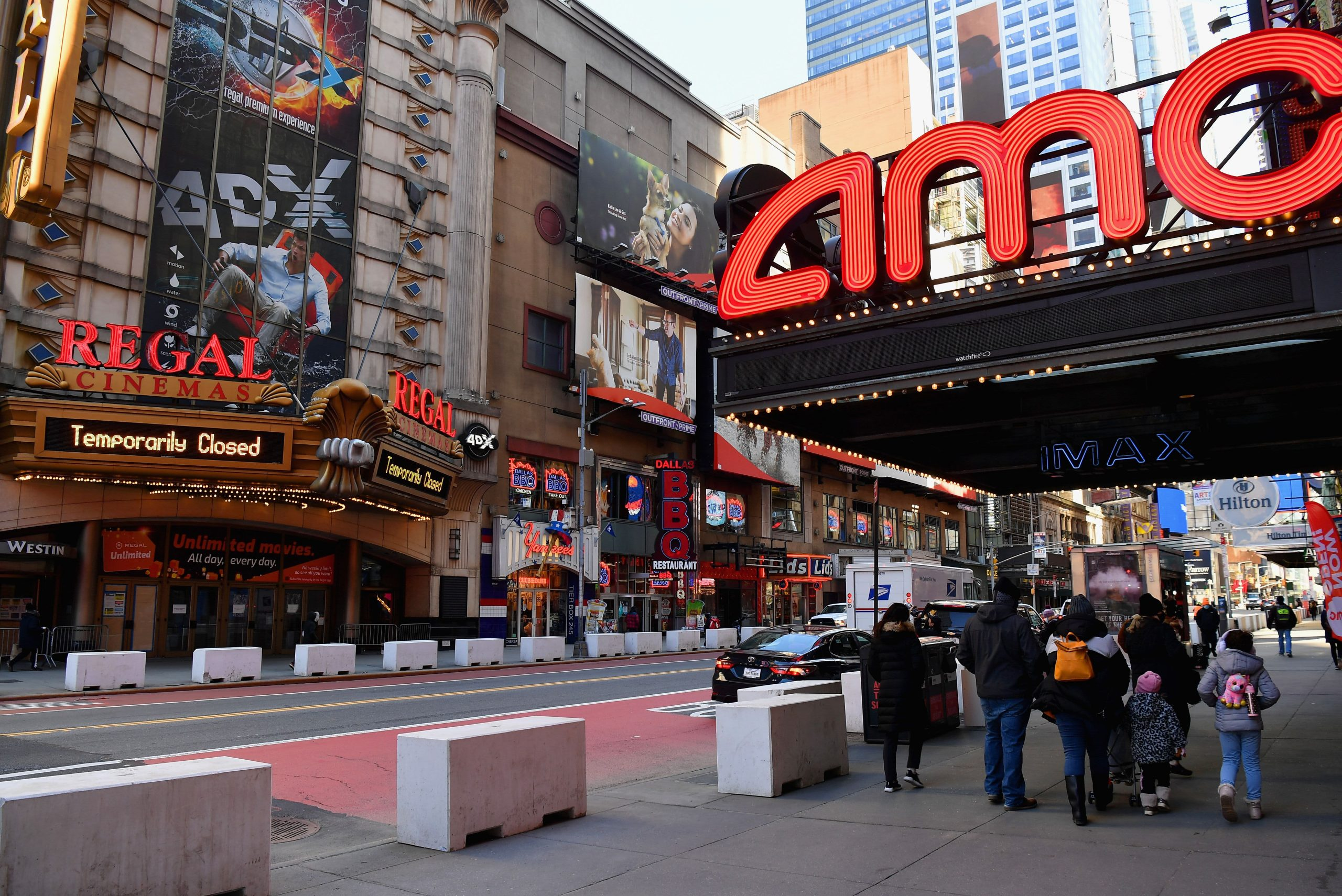 Meme stock AMC extends rally, jumps 17% as theater chain sells new shares to an investor