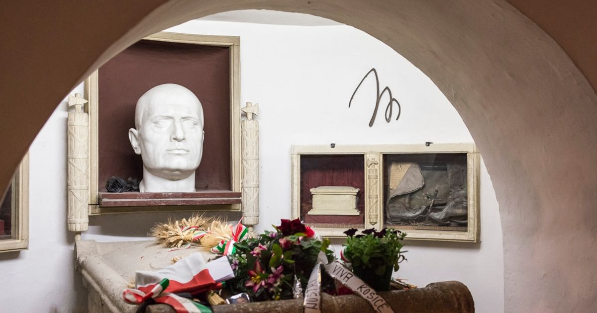 Mussolini family feuds over reopened crypt of fascist Italian dictator