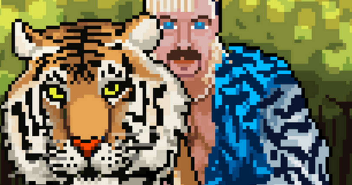 NFTs of a different stripe: Joe Exotic gets into the digital art trend