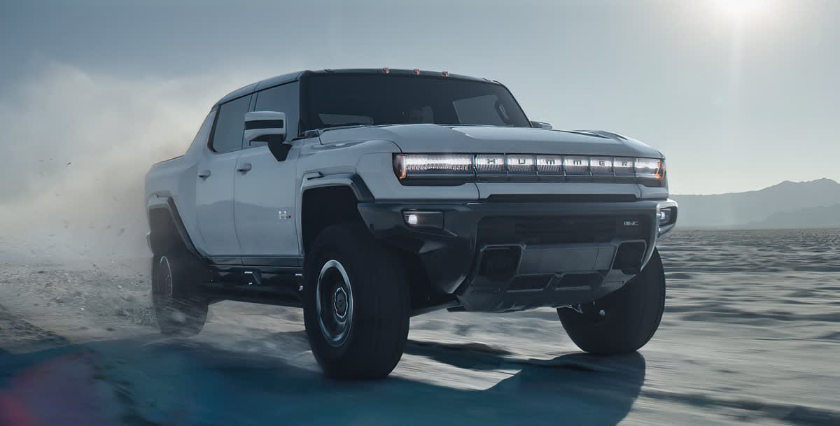 GM confirms third electric pickup truck ahead of Hummer production