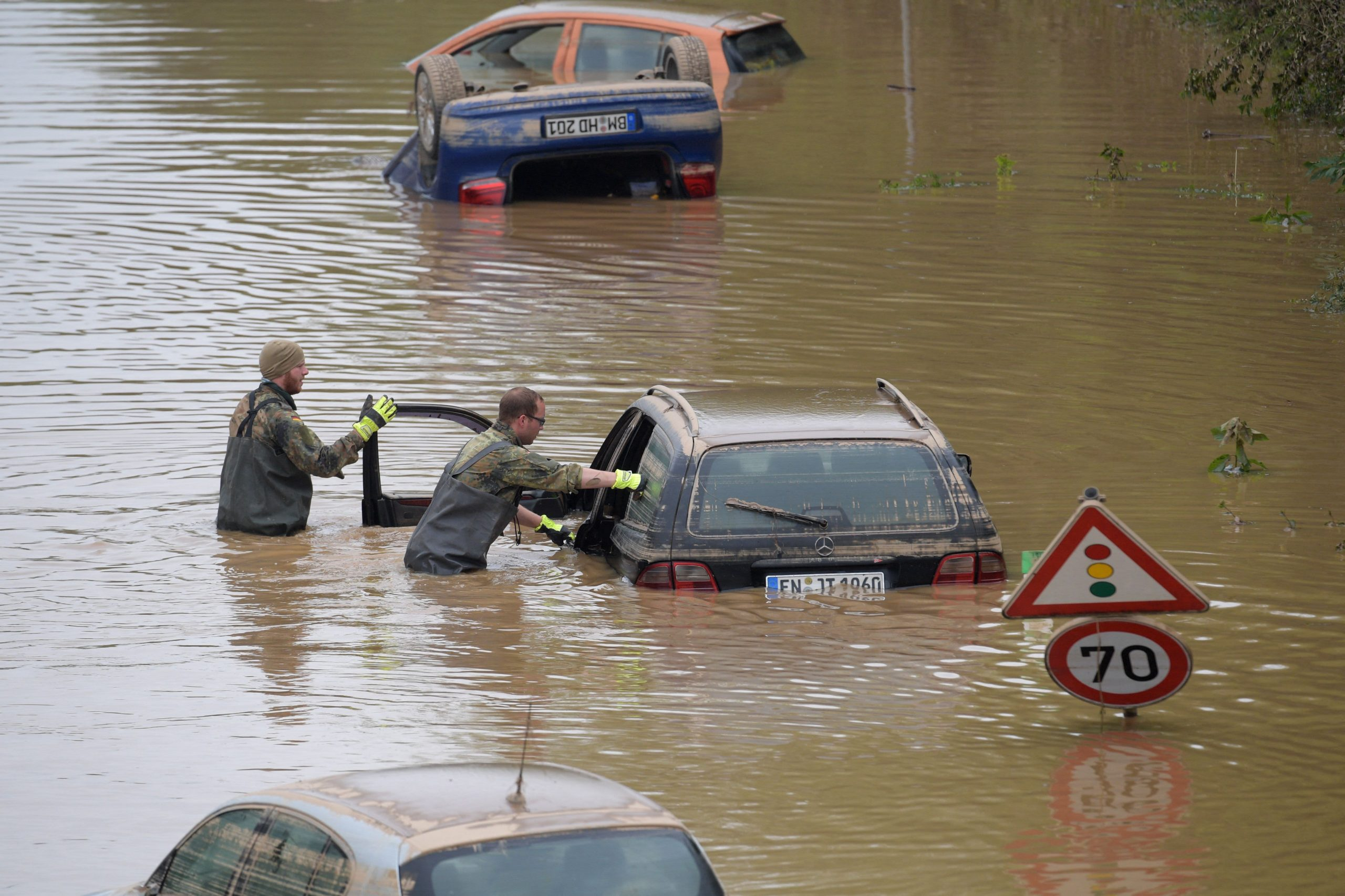 Global shipping industry disrupted again, this time by floods in Europe and China