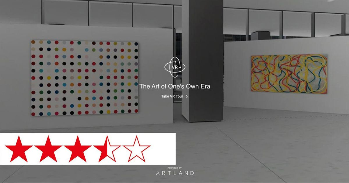 XR Review   Clean, seamless and free from distraction: VR exhibition opens UBS corporate collection of blue-chip art to the public   The Art of One's Own Era with Artland
