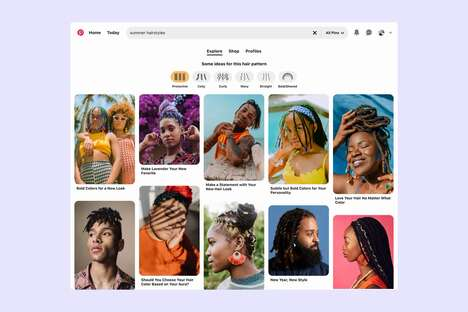 Inclusive Hair Search Features