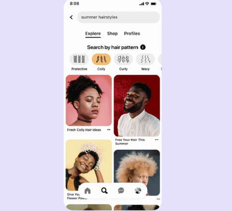 Inclusive Hair Search Tools