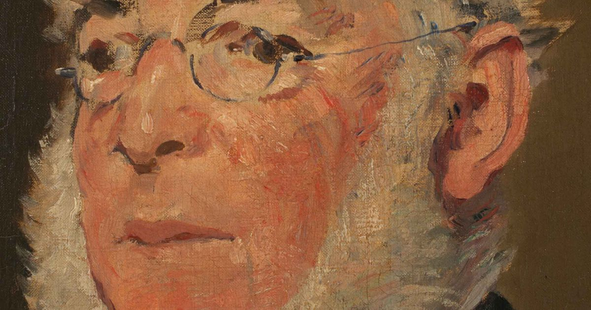 Manet of the Valleys: portrait of the artist's bespectacled cousin to be restored by National Museum Wales