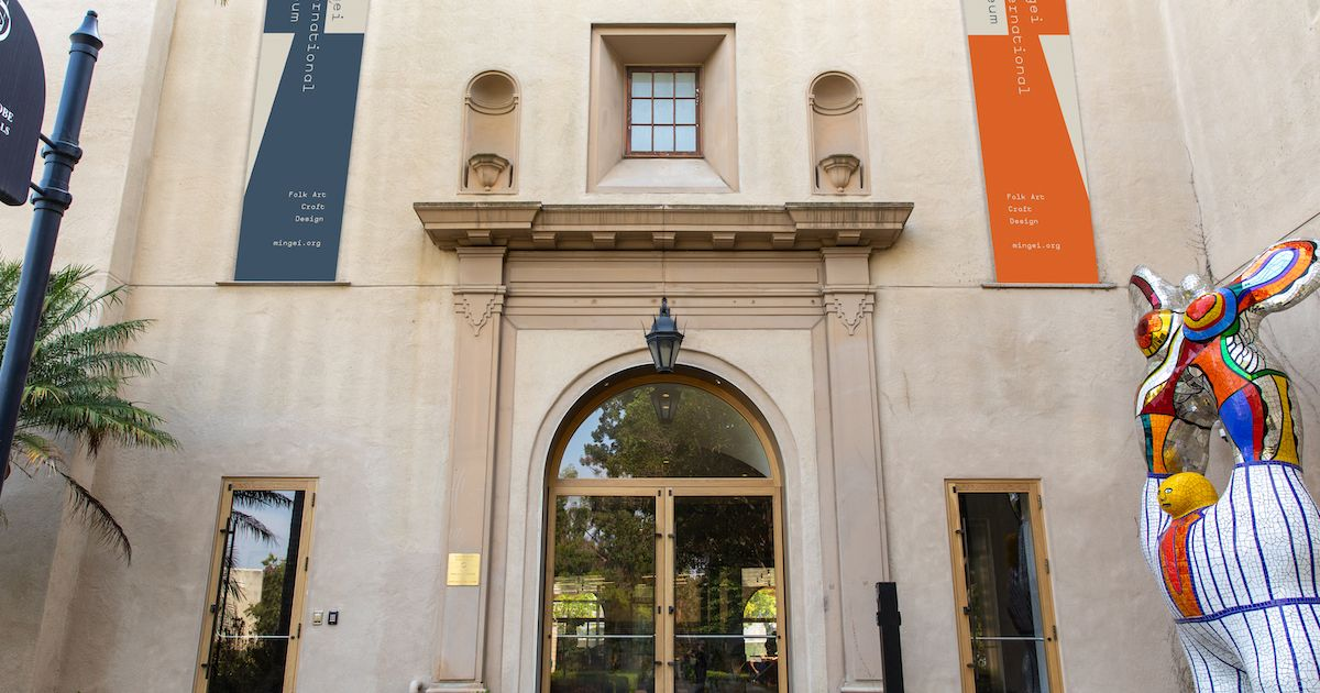 Museum championing 'art of the people' reopens in San Diego after $55m renovation