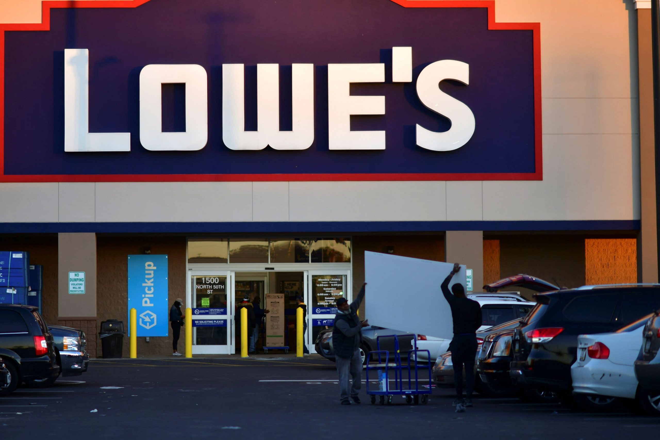 Stocks making the biggest moves midday: Lowe's, ViacomCBS, Target, BlackBerry and more