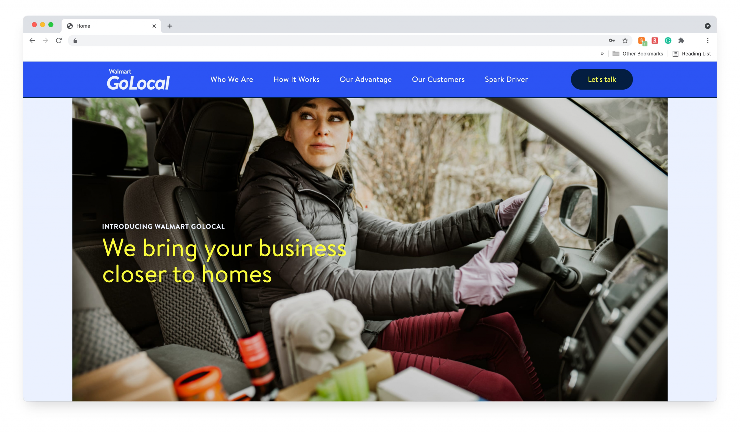 Walmart launches delivery business to connect other local retailers with consumers
