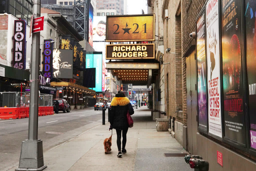 With Hamilton, Lion King, Wicked ticket sales slow, Broadway isn't back